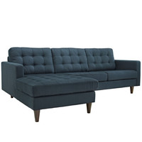 Holistic Left-Arm Fabric Upholstery Sectional Sofa