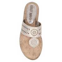 Women's Sam & Libby Tibby Whip Stitch Thong Sandals : Target