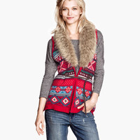 Knit Vest - from H&M