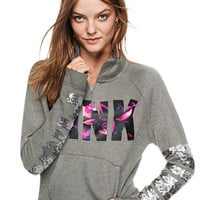 Bling Perfect Quarter-Zip - PINK - Victoria's Secret