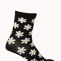 Daisy Fields Crew Socks