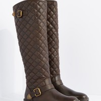 Brown Quilted Knee High Boot By Qupid | Knee High | rue21