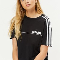 adidas Oversized 3-Stripe T-Shirt at PacSun.com