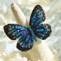 Gorgeous Butterfly Ring