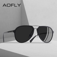 AOFLY BRAND DESIGN Polarized Sunglasses Men Vintage Driving Classic Sunglasses Women TR90 Frame Goggles UV400 AF8101
