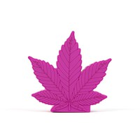 PURPLE LEAF PORTABLE CHARGER