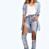 Brea Distressed Boyfriend Cheeky Rips Jeans