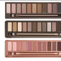 Naked 1,2,3, Makeup 12 Color Eyeshadow Palette
