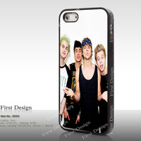 5 seconds of summer, Resin iPhone 5S case, iPhone 5C Case, iPhone 4S 4 Case, Samsung Galaxy S3 S4 S5 Case, Galaxy Note 2 Note 3 Case - 50003