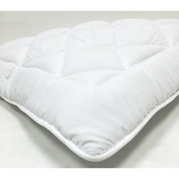 "King Waterbed- Down Alternative Mattress Pad/ Topper- Fully Reversible (Double Life)- 1"" With Stay Tight Anchor Straps"