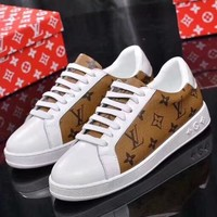 Louis Vuitton Women Fashion Casual Sneakers Sport Shoes-39