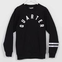 Boxfresh 25 Hamate Crew Sweat, Black