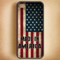 Cell Phone Case Made In America USA Flag