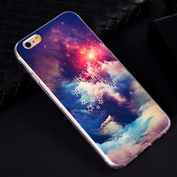 Beautiful Night Sky iPhone 6S 5S 6 Plus Case Best Gift