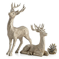 """Majestic Deer - 8""""H & 14""""H 