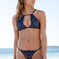 Blue Life - Seashell Keyhole Top | Pacific