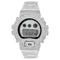 Full Bling G Shock Watch Simulated Diamonds DW600 Custom