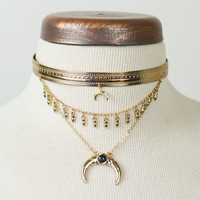 Layered Western Style Necklace