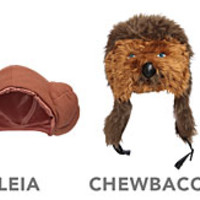 Star Wars Plush Character Hats
