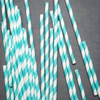 Spiraled Shoppe Straws in SHOP Décor Tabletop at BHLDN