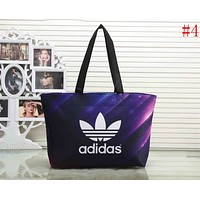 Adidas Trending Shopping Bag Starry Sky Pattern Canvas Handbag Single Shoulder Bag #4 I-XS-PJ-BB