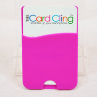 pink card cling