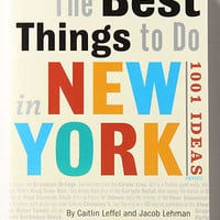 Anthropologie - The Best Things To Do In New York: 1001 Ideas