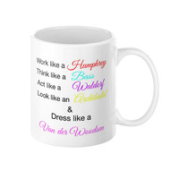 Coffee Mug with Quote, Gossip girl quotes, TV series