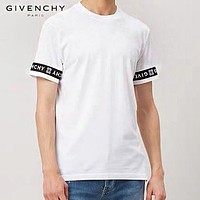 GIVENCHY Fashion Men Women Leisure Print Short Sleeve Cotton T-Shirt Top