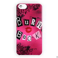 Mean Girls Burn Book Cover Style For iPhone 5 / 5S / 5C Case