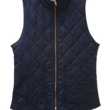Out in the Wild Puffer Vest (Navy)