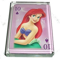 Ariel The Little Mermaid Acrylic Executive Desk Top Paperweight