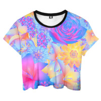 Hyper Blossom Crop Top