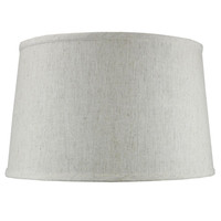 0-009751>Shallow Drum Hard Back Textured Oatmeal