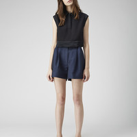 Cropped Collared Top by 3.1 Phillip Lim
