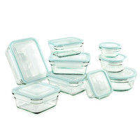 Glasslock 18 Piece Glasslock Storage Container Set