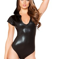 Hooded Rave Bodysuit