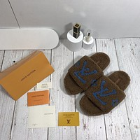 Louis Vuitton LV PASEO FLAT COMFORT Slippers Shoes