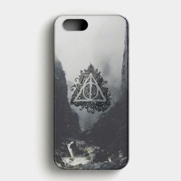 Deathly Hallows Harry Potter iPhone SE Case