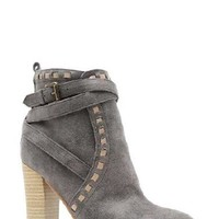 Studded Taupe Booties