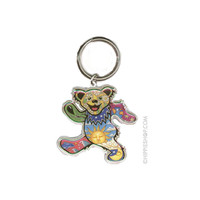Grateful Dead - Cheerful Dancing Bear Keychain on Sale for $4.99 at HippieShop.com