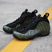 "[ Free  Shipping ]Nike Air Foamposite One ""Legion Green""314996-301  Running  Sneaker"