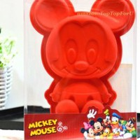 Disney Mickey Minnie Mouse Silicone Muffin Cake Chocolate Jelly Cup Pan Mold Mould
