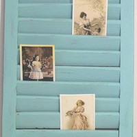 Shabby Shutter Memo Board - 3 colors