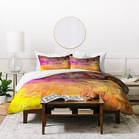 Sophia Buddenhagen Purple Abyss Duvet Cover