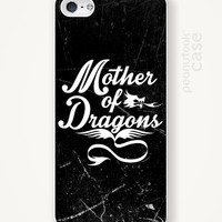 Game of Thrones phone case iPhone case Mother of Dragons iphone case iPhone4 iPhone5 plastic case iPhone case GOT phone case phone case GOT