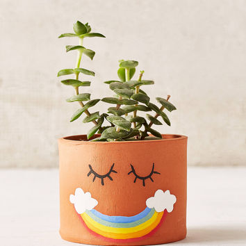 Jarmel By Jarmel Smile Rainbow Planter | Urban Outfitters