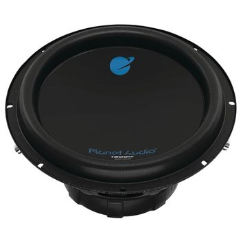 """Planet Audio Anarchy Series Dual Voice-coil Subwoofer (10"""" 1500 Watts Max)"""