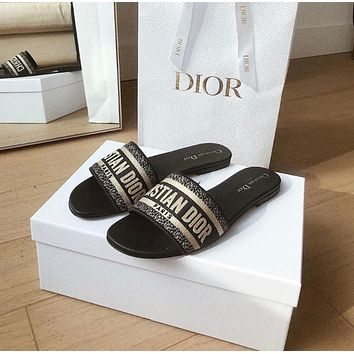 Dior Flat bottom slippers 7 colors