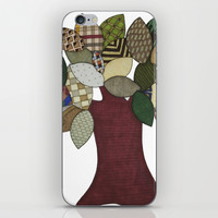 Tree and Sheep iPhone & iPod Skin by Erin Brie Art